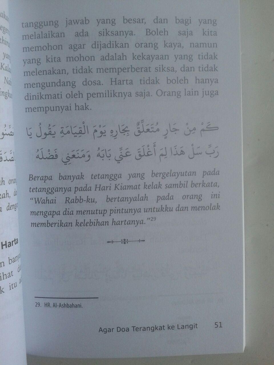 Buku Saku 75 Doa Keberkahan Rezeki isi