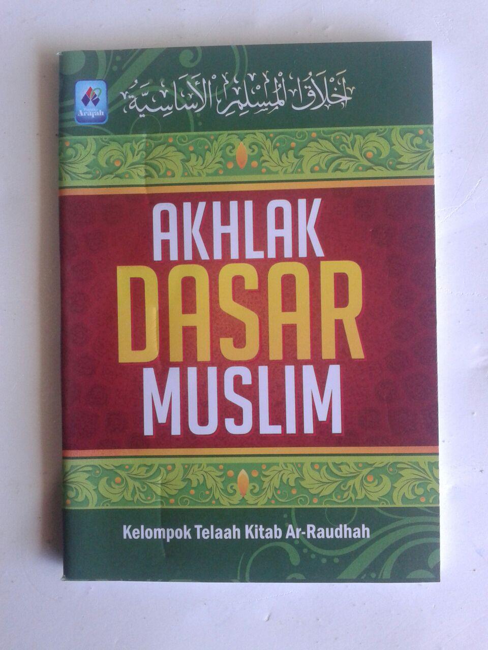 Buku Saku Akhlak Dasar Muslim cover 2