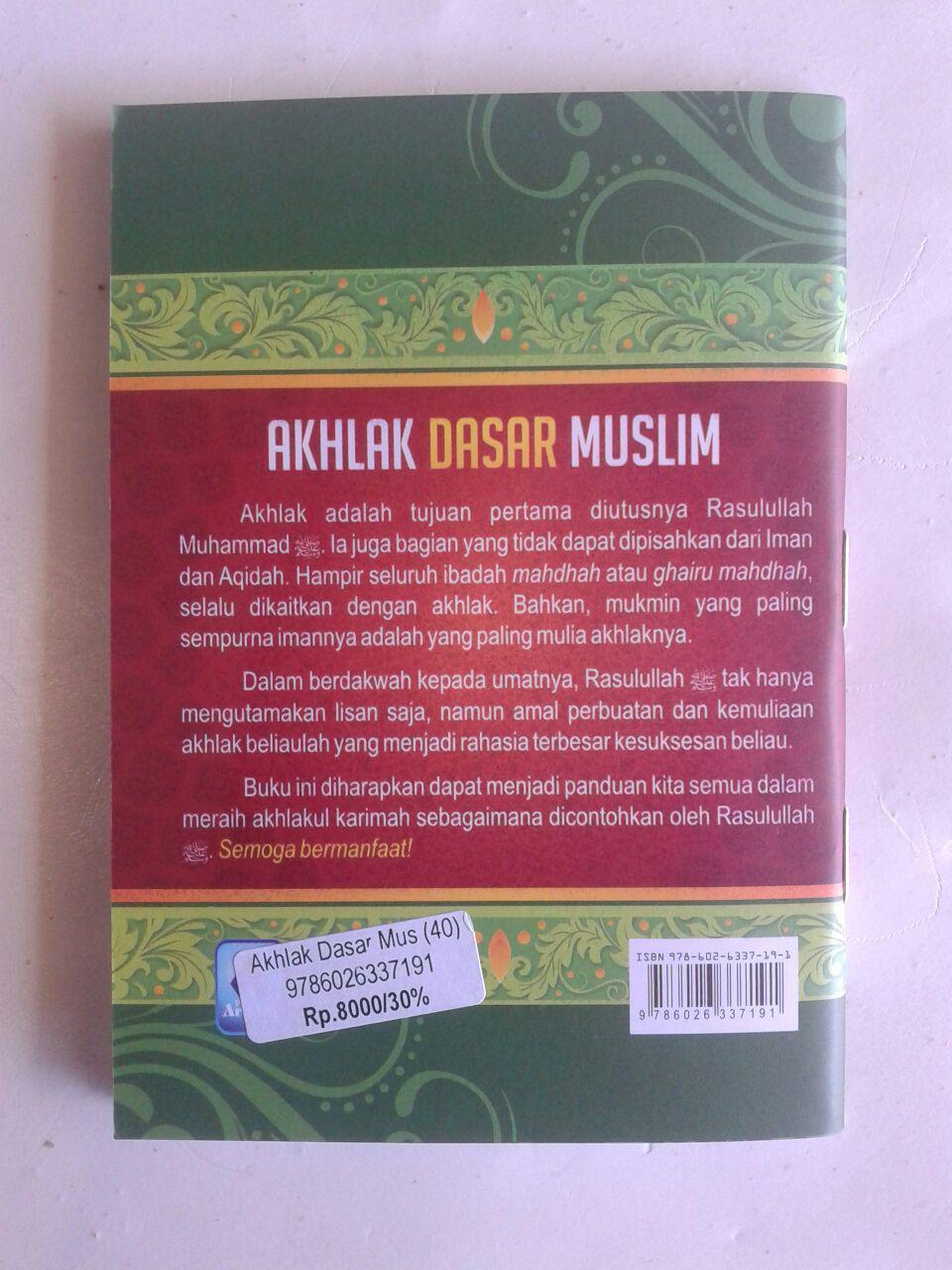 Buku Saku Akhlak Dasar Muslim cover