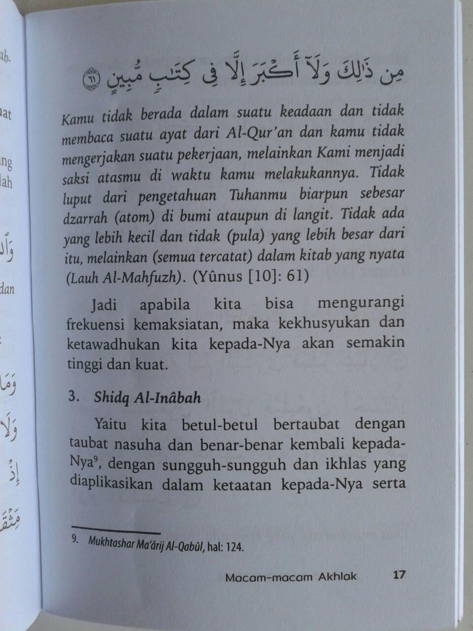Buku Saku Akhlak Dasar Muslim isi 2