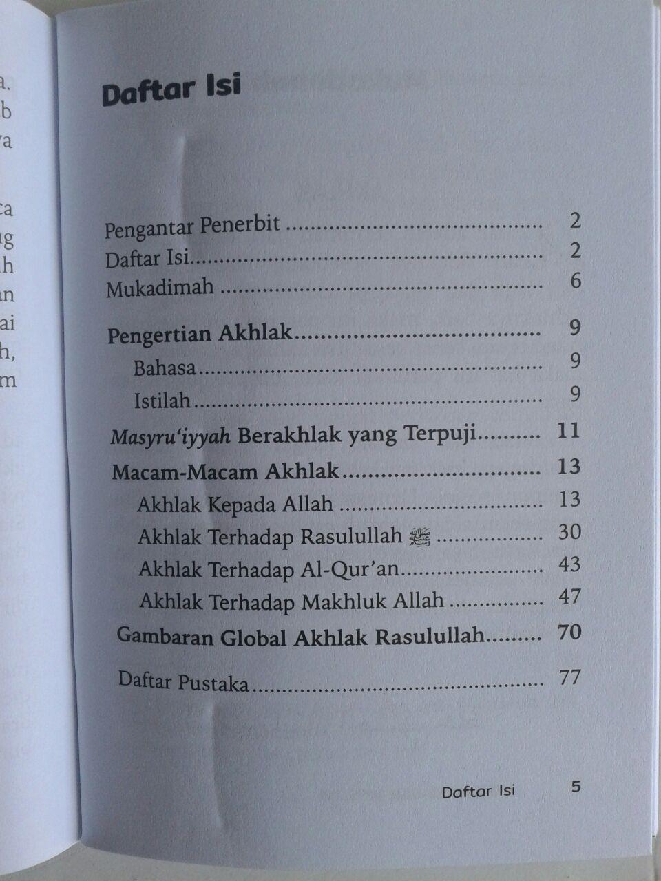Buku Saku Akhlak Dasar Muslim isi 4