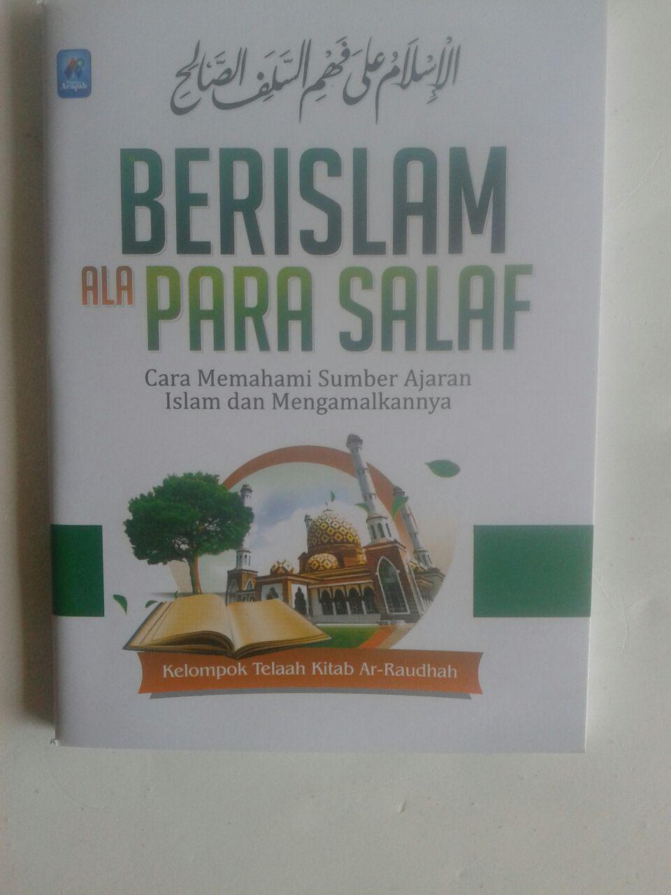 Buku Saku Berislam Ala Para Salaf Cara Memahami Sumber Islam cover 2