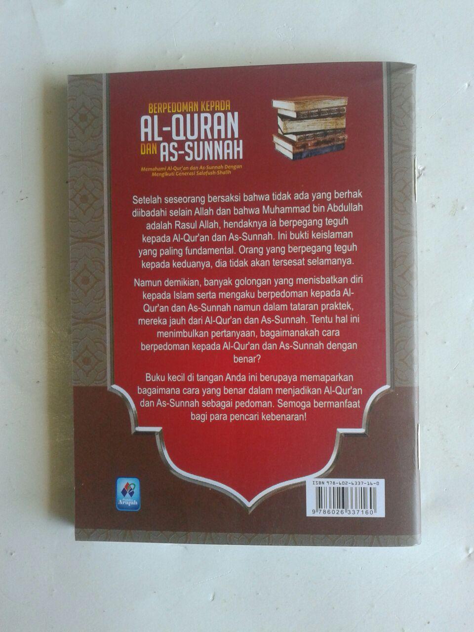 Buku Saku Berpedoman Kepada Al-Quran Dan As-Sunnah cover