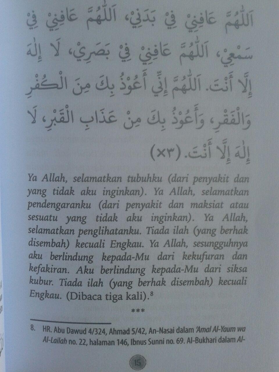 Buku Saku Dzikir Pagi Dan Petang Dilengkapi Doa Dzikir Shalat isi 2