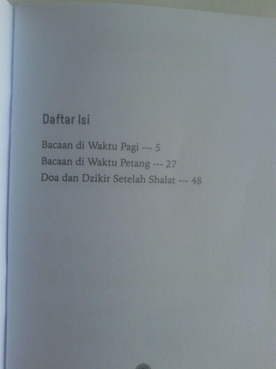 Buku Saku Dzikir Pagi Dan Petang Dilengkapi Doa Dzikir Shalat isi 3