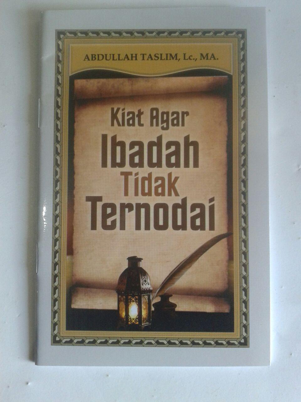 Buku Saku Kiat Agar Ibadah Tidak Ternodai cover 2