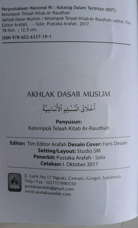Buku Saku Manzhumah Al-Qawaid Al-Fiqhiyyah As-Sa'diy isi 2
