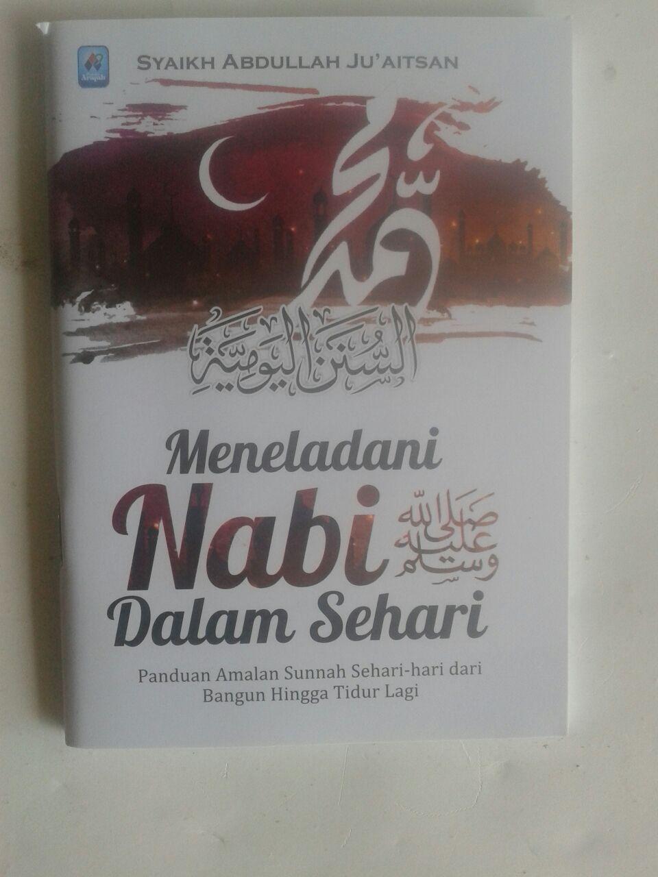 Buku Saku Meneladani Nabi Dalam Sehari cover 2