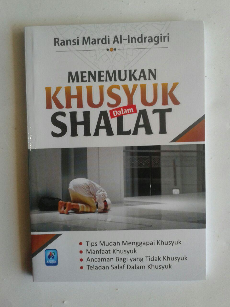 Buku Saku Menemukan Khusyuk Dalam Shalat cover 2