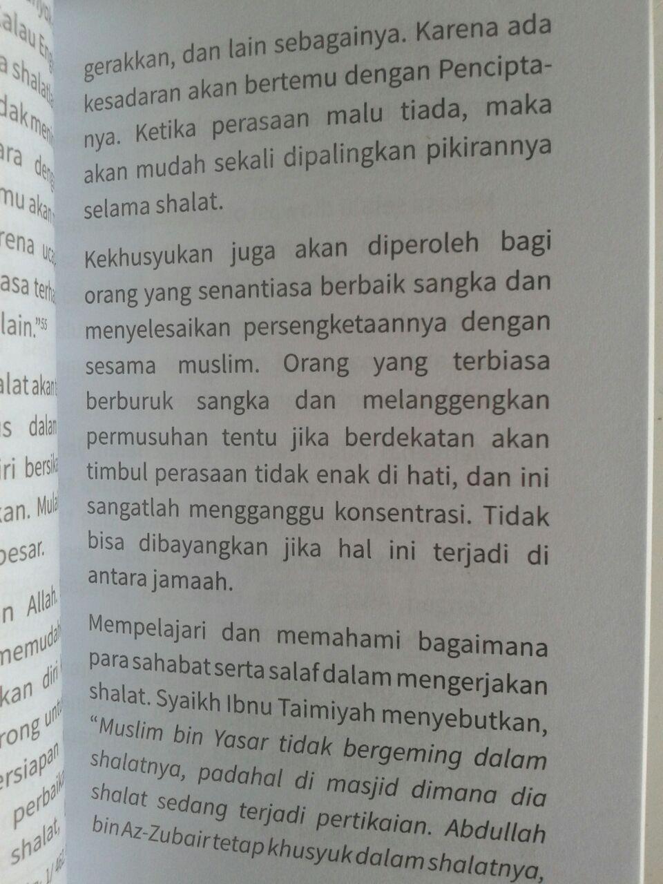 Buku Saku Menemukan Khusyuk Dalam Shalat isi 3