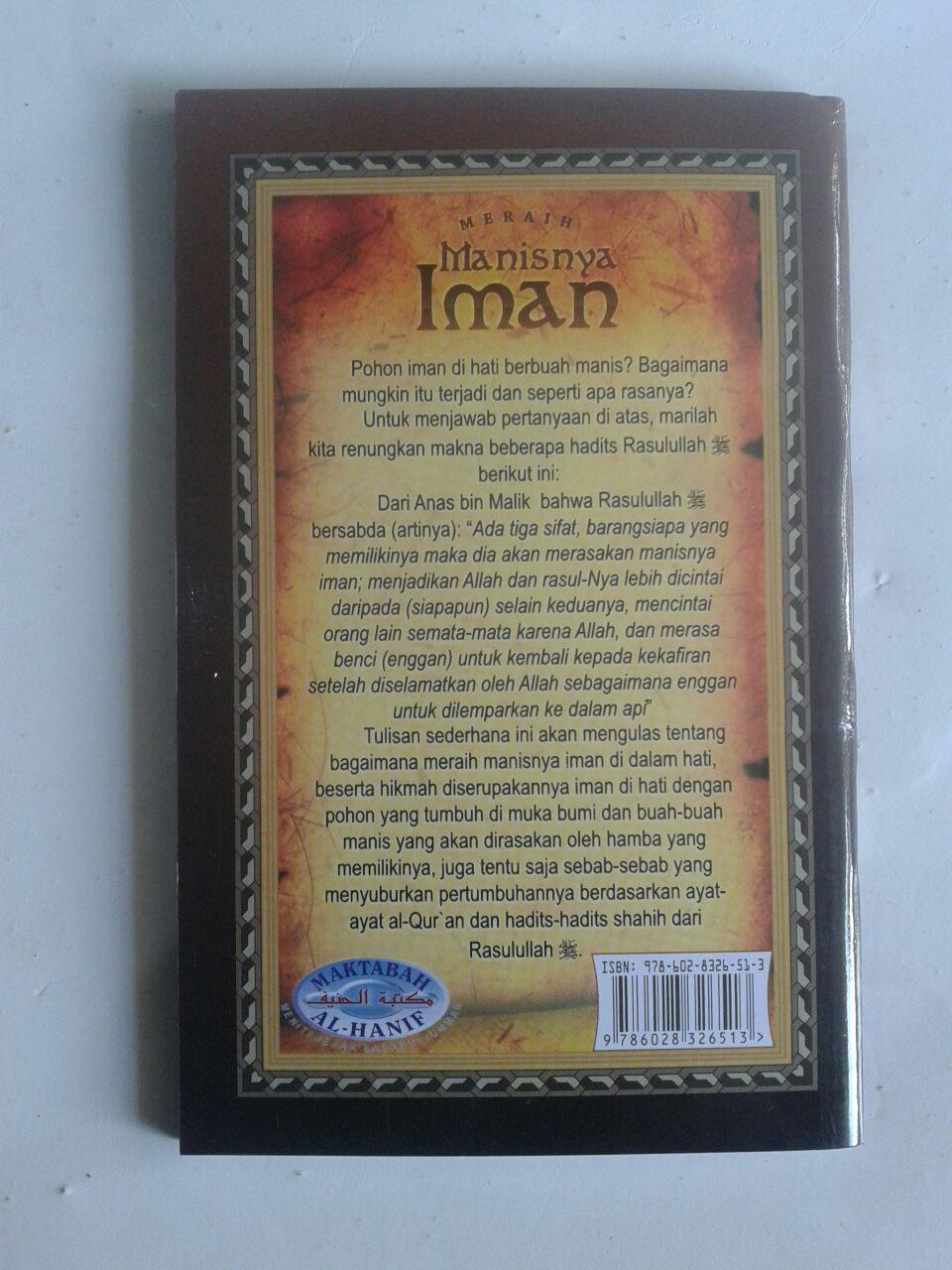 Buku Saku Meraih Manisnya Iman cover