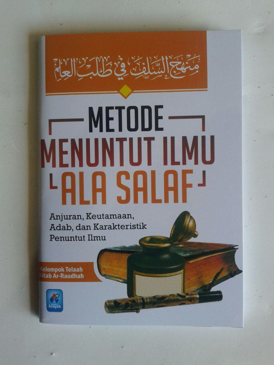 Buku Saku Metode Menuntut Ilmu Ala Salaf cover 2
