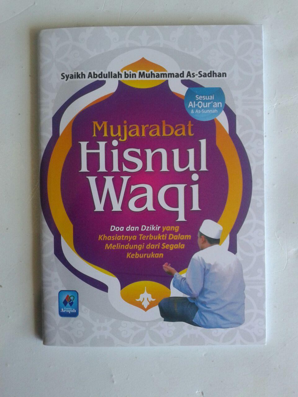 Buku Saku Mujarabat Hisnul Waqi Doa Dzikir Dari Keburukan cover 2