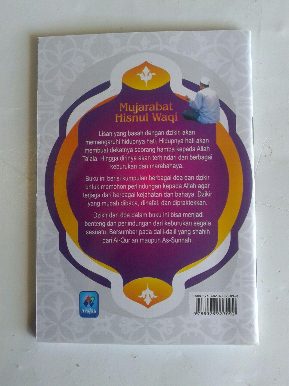 Buku Saku Mujarabat Hisnul Waqi Doa Dzikir Dari Keburukan cover