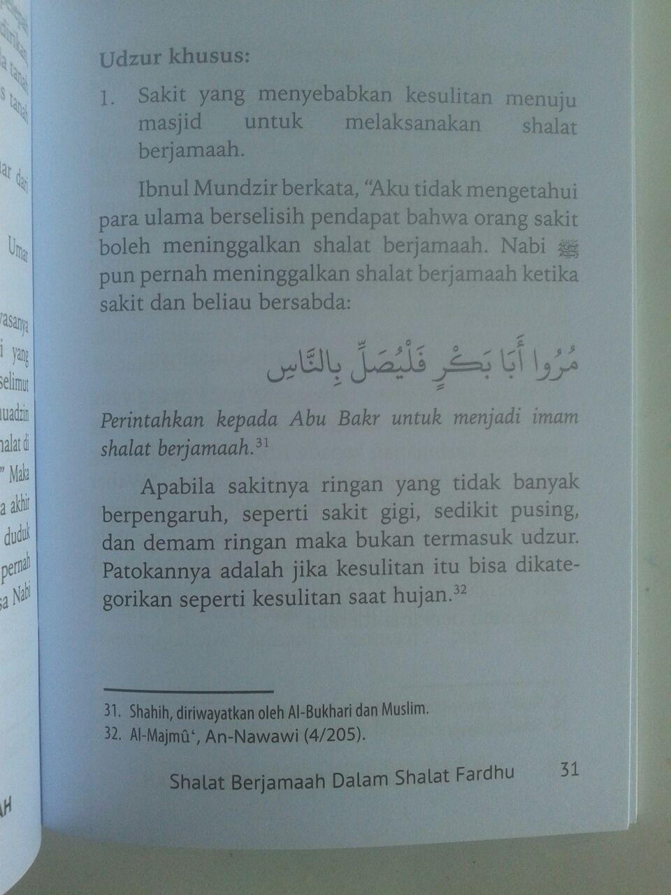 Buku Saku Panduan Ringkas Shalat Berjamaah isi 3