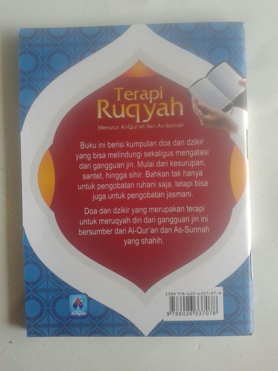 Buku Saku Terapi Ruqyah Menurut Al-Qur'an Dan As-Sunnah cover