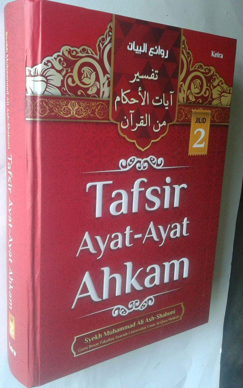 Buku Tafsir Ayat-Ayat Ahkam Jilid 2 cover 3