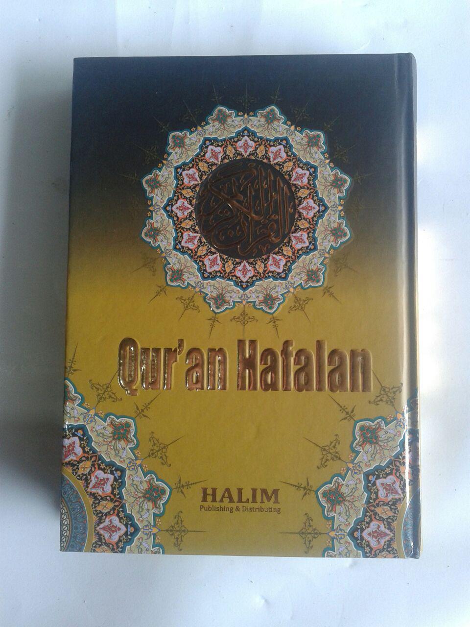 Qur'an Hafalan Tanpa Terjemah Halim Ukuran A6 cover 2