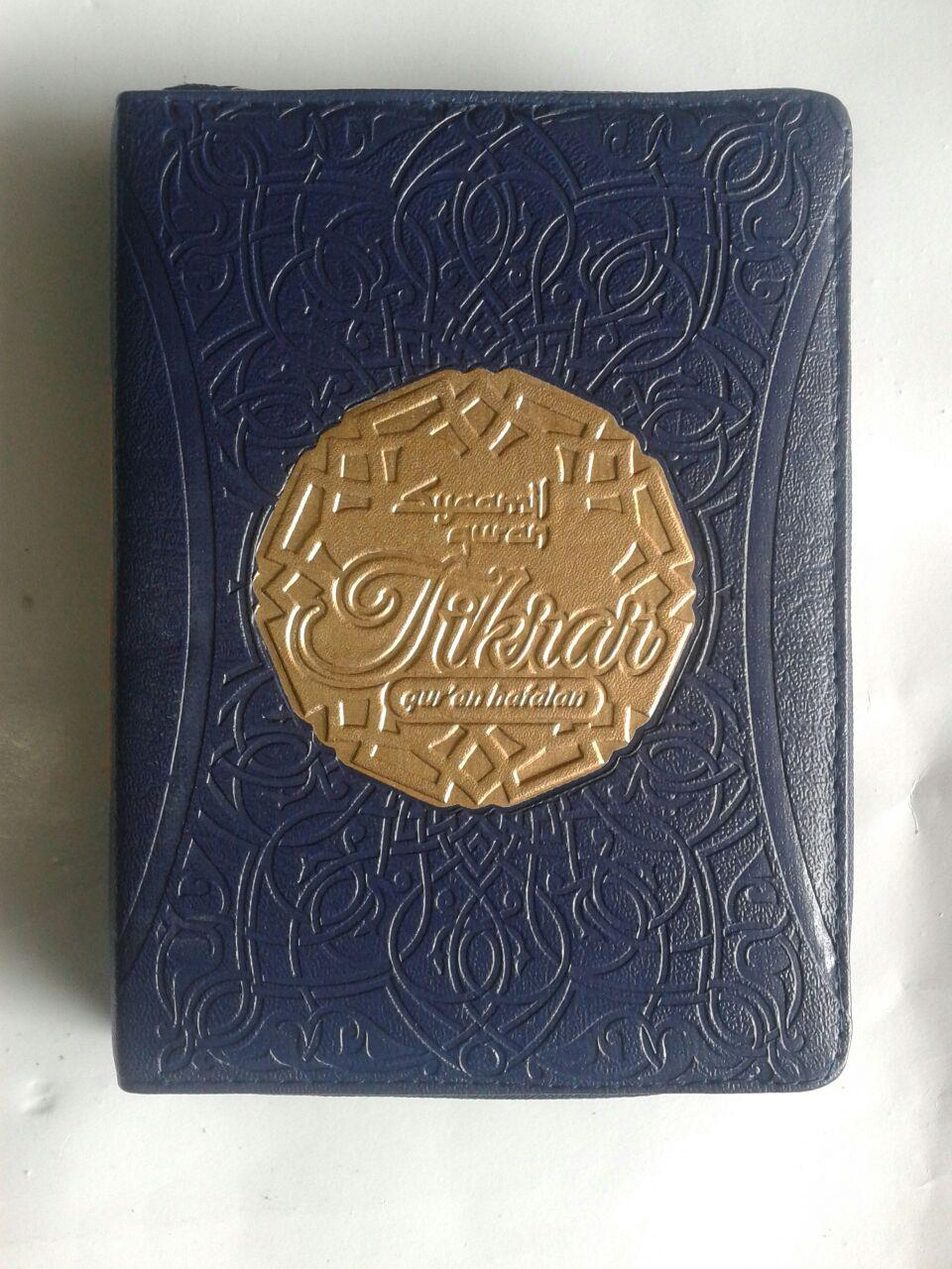 Qur'an Hafalan Tikrar Ukuran B6 Resleting cover