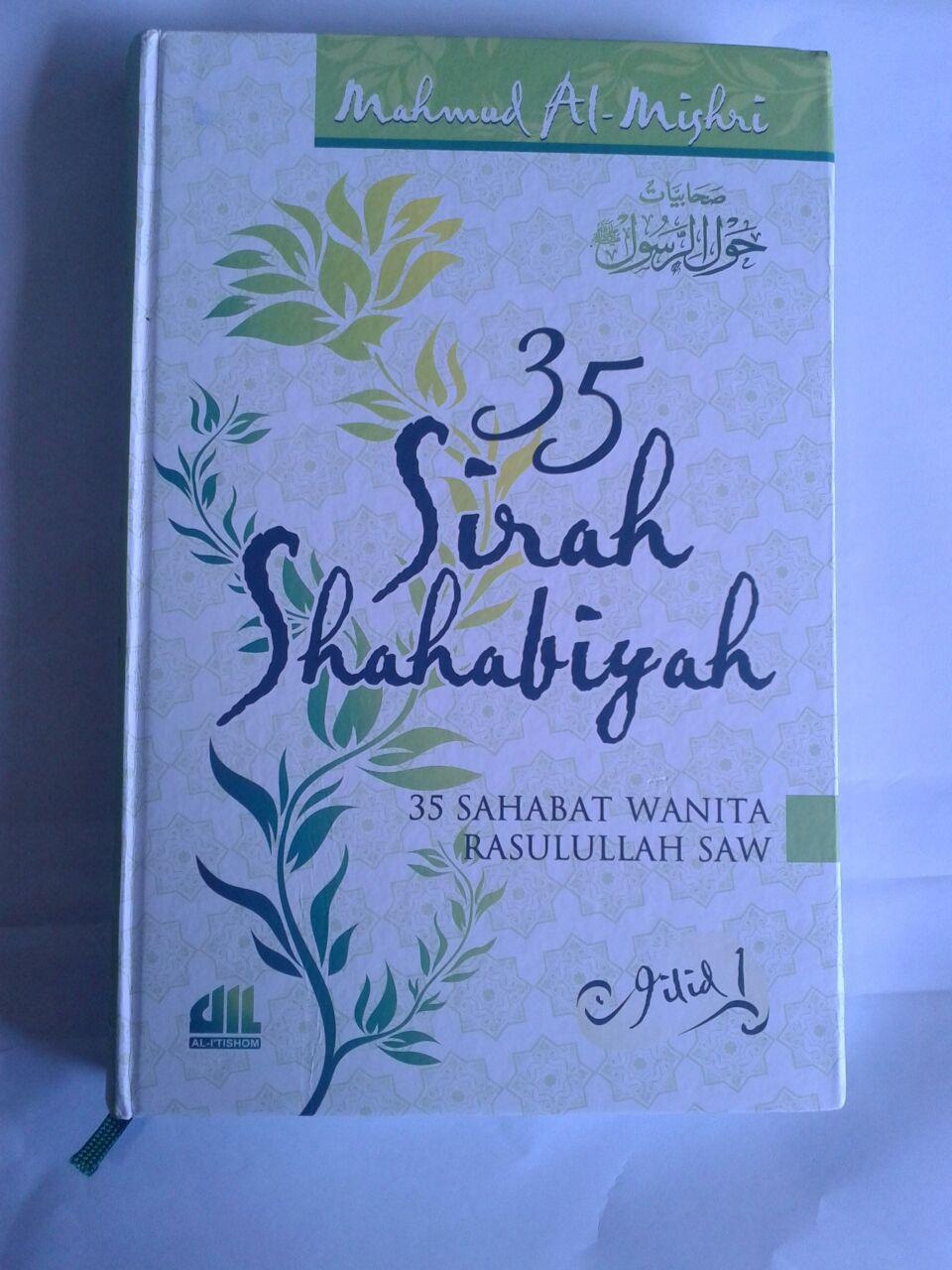 Buku 35 Sirah Shahabiyah 35 Sahabat Wanita Rasulullah 2 Jilid cover 3