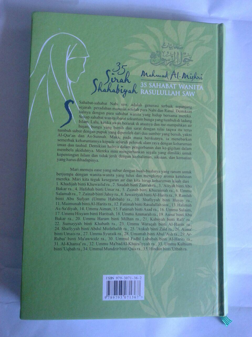 Buku 35 Sirah Shahabiyah 35 Sahabat Wanita Rasulullah 2 Jilid cover