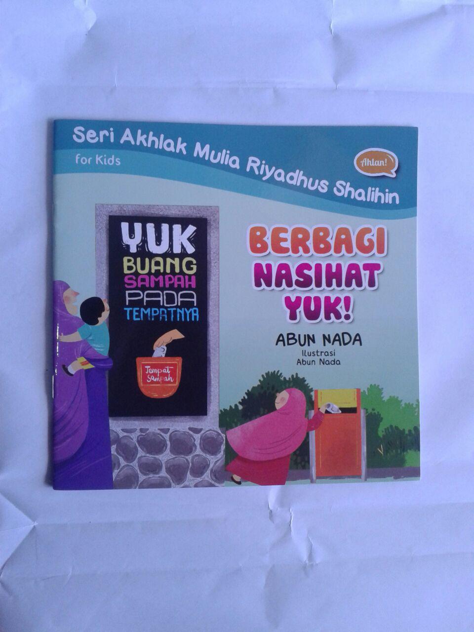 Buku Anak Berbagi Nasihat Yuk cover 2