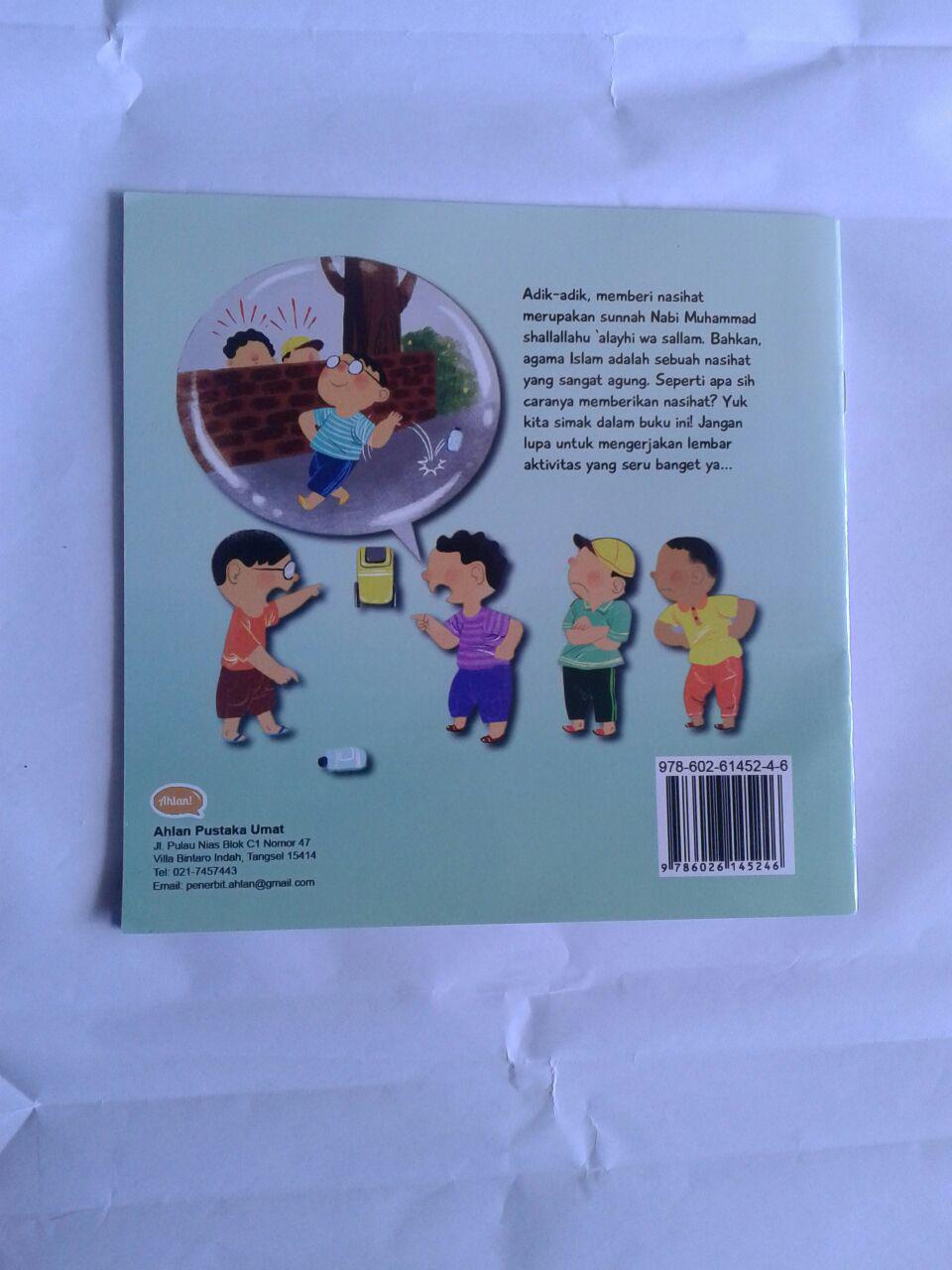 Buku Anak Berbagi Nasihat Yuk cover