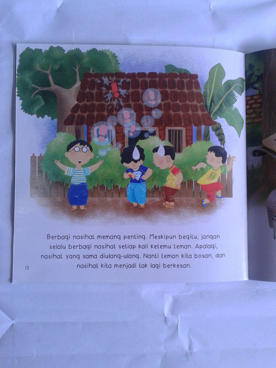 Buku Anak Berbagi Nasihat Yuk isi 2