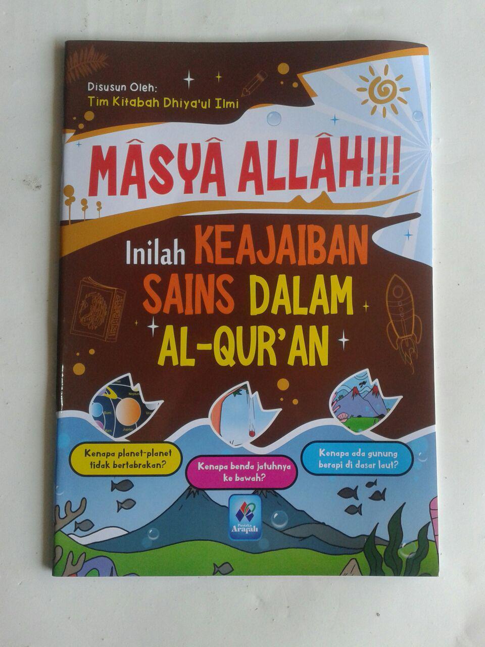 Buku Anak Masya Allah Inilah Keajaiban Sains Dalam Al-Qur'an cover 2