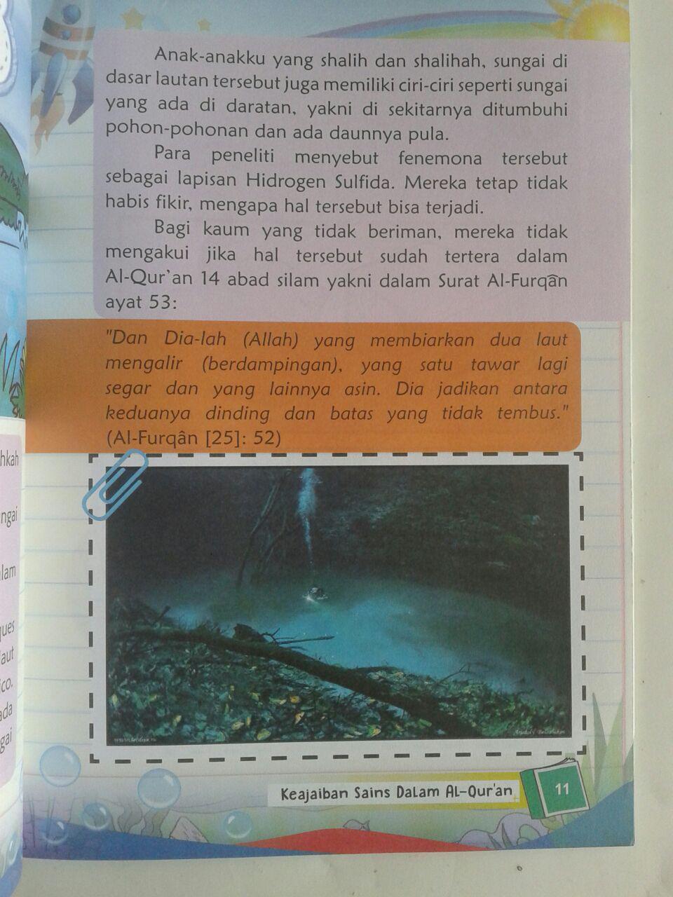 Buku Anak Masya Allah Inilah Keajaiban Sains Dalam Al-Qur'an isi 3