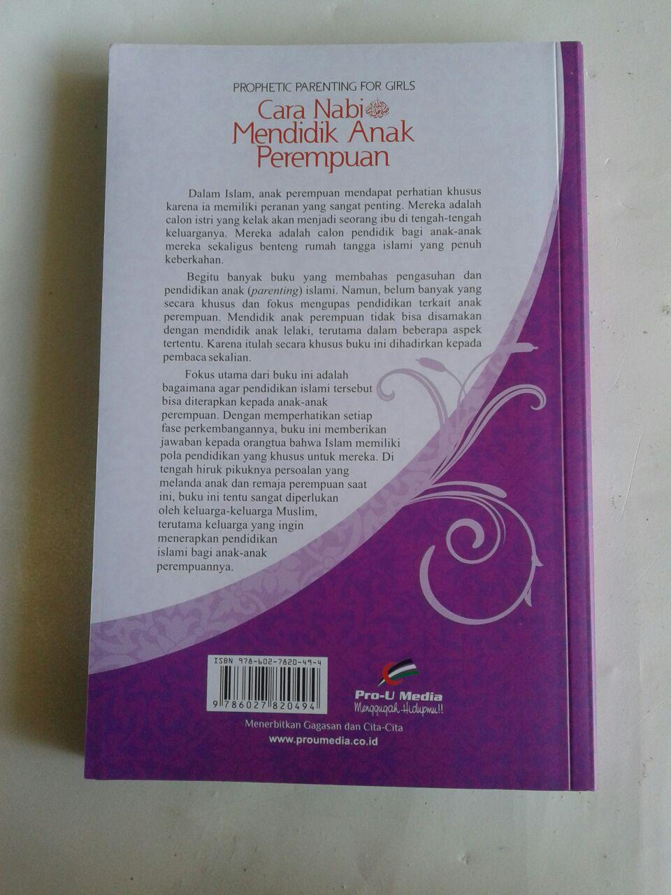 Buku Cara Nabi Mendidik Anak Perempuan cover