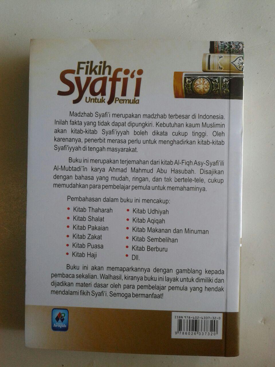 Buku Fikih Syafi'I Untuk Pemula Belajar Mudah Tingkat Dasar cover