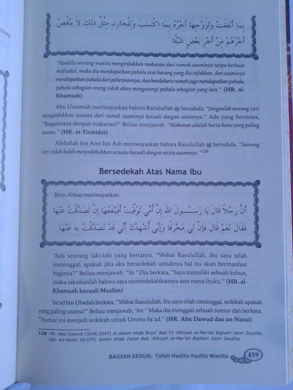Buku Husnul Uswah Riyadhus Shalihin Untuk Muslimah isi 2