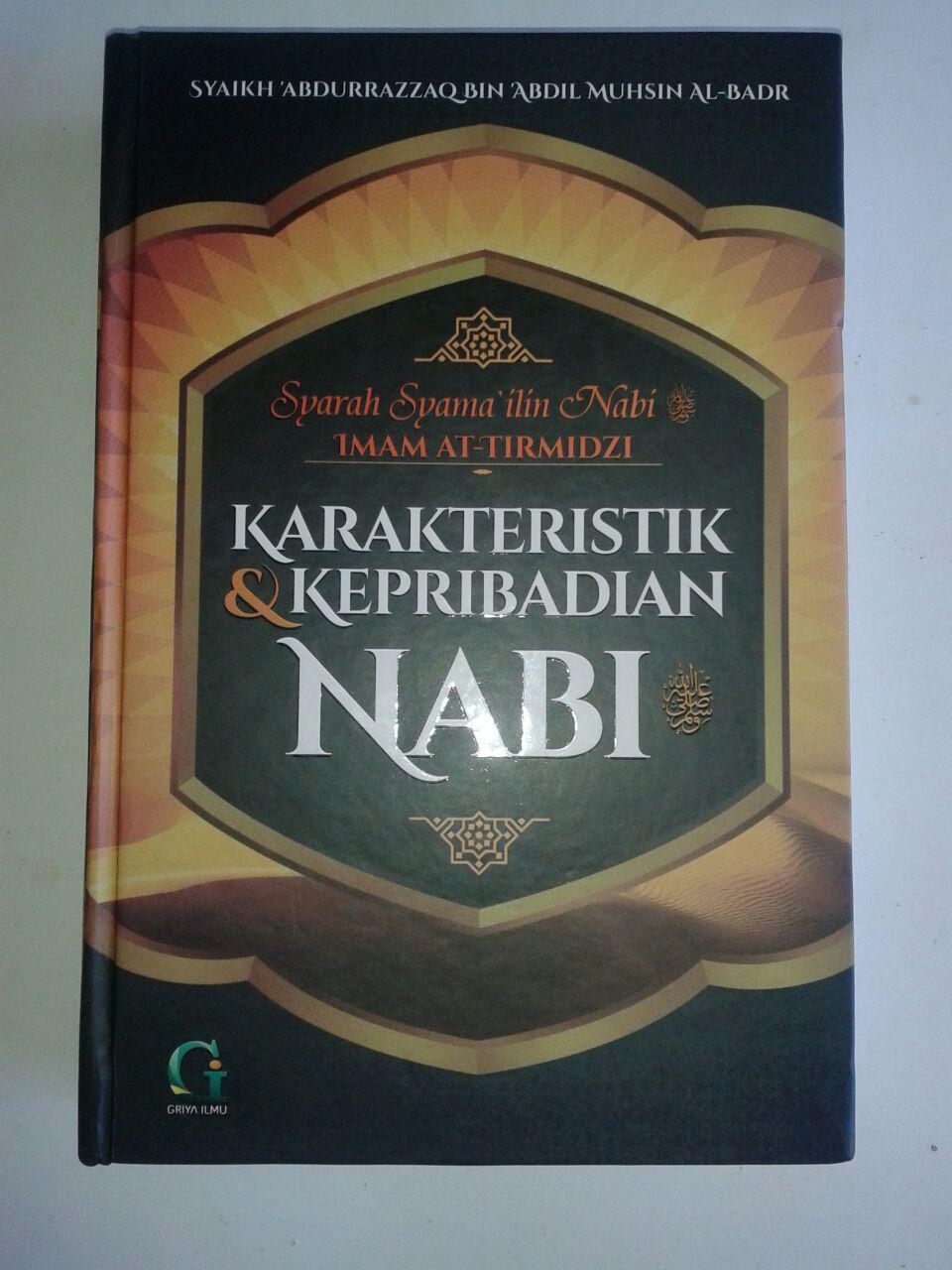 Buku Karakteristik Dan Kepribadian Nabi Syarah Syamailin Nabi cover 3