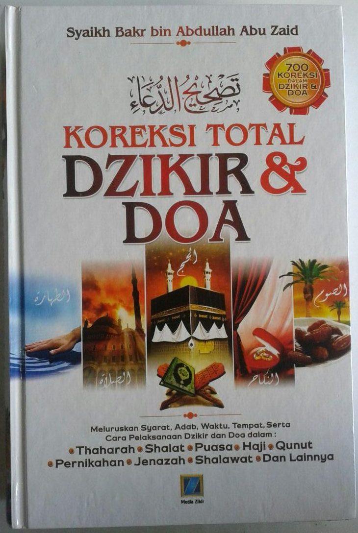 Buku Koreksi Total Dzikir Dan Doa 700 Koreksi Dalam Dzikir Doa cover 2