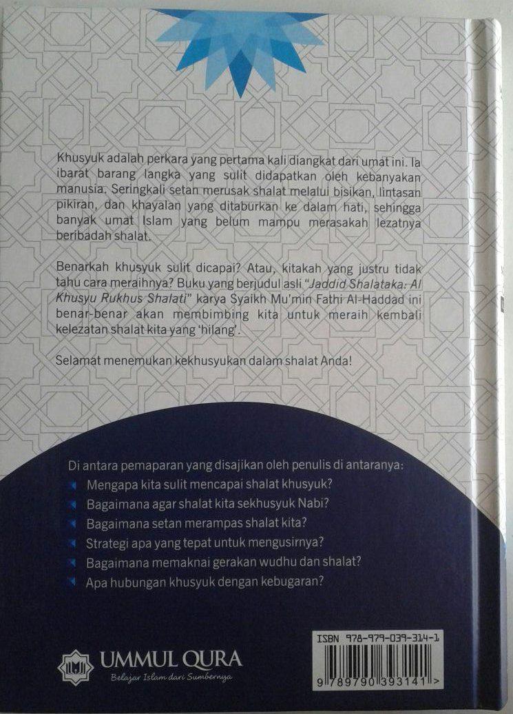 Buku Mencapai Shalat Khusyuk cover