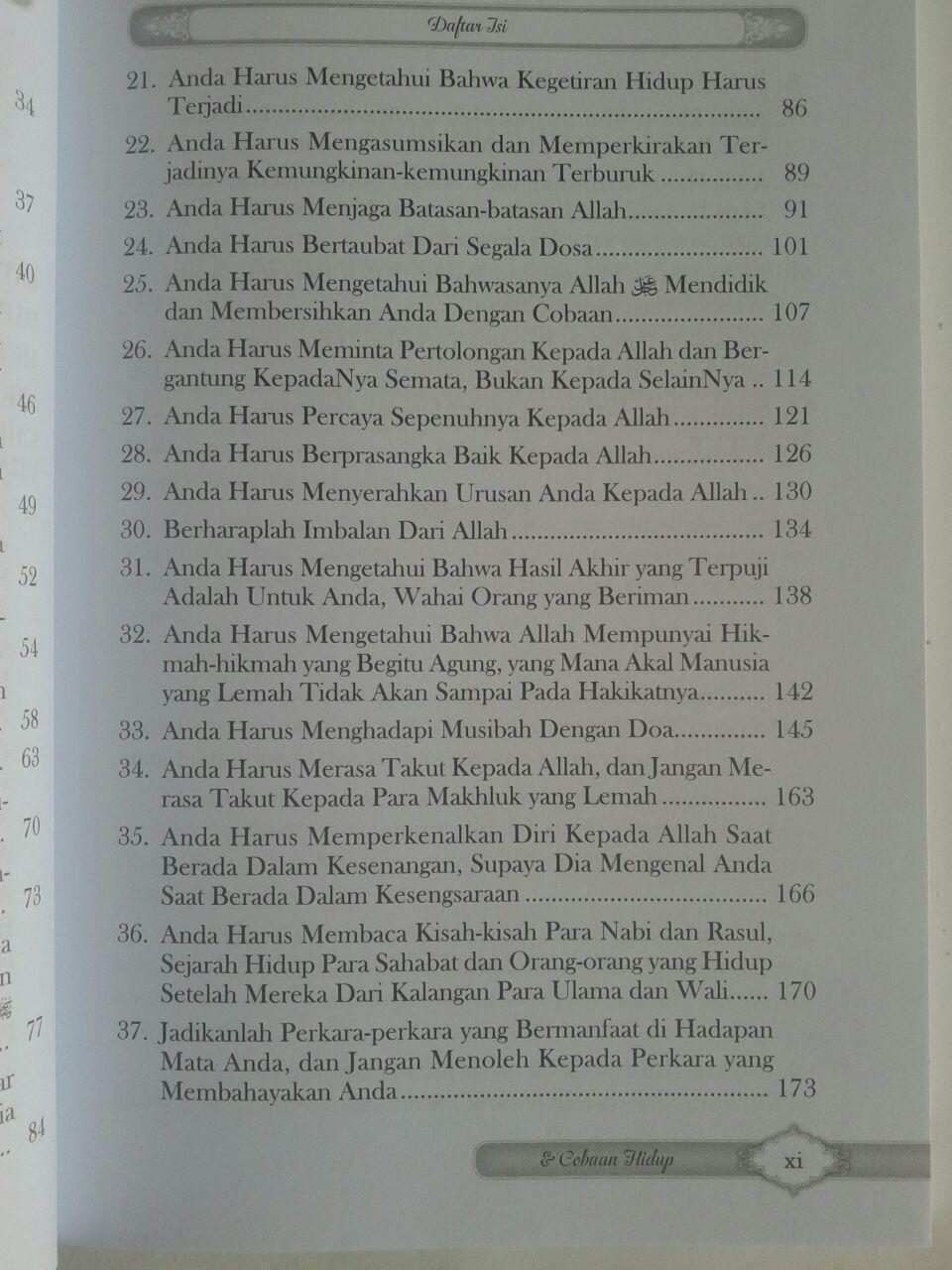 Buku Menghadapi Ujian Dan Cobaan Hidup Dalam Bimbingan Quran Sunnah isi 3