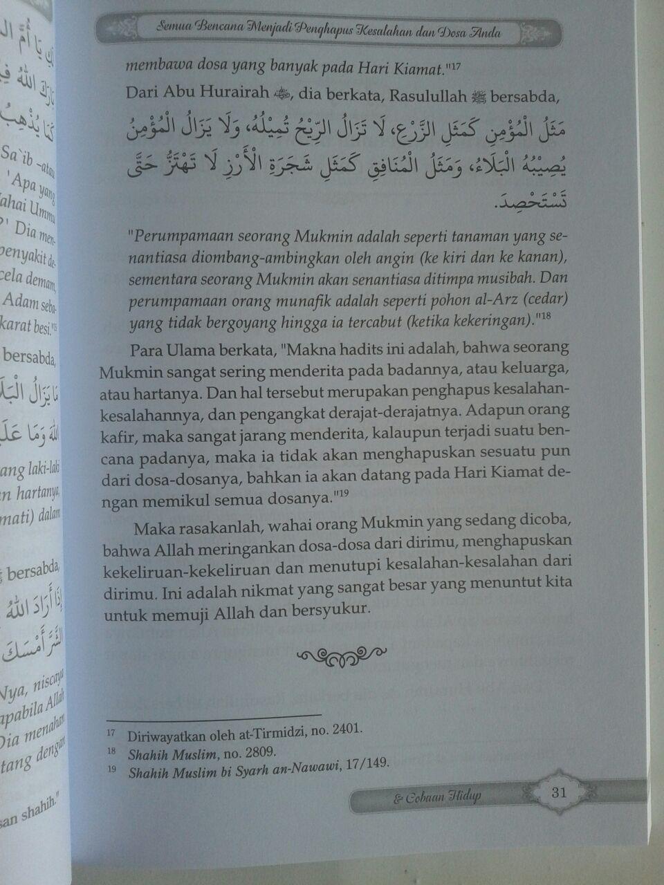 Buku Menghadapi Ujian Dan Cobaan Hidup Dalam Bimbingan Quran Sunnah isi