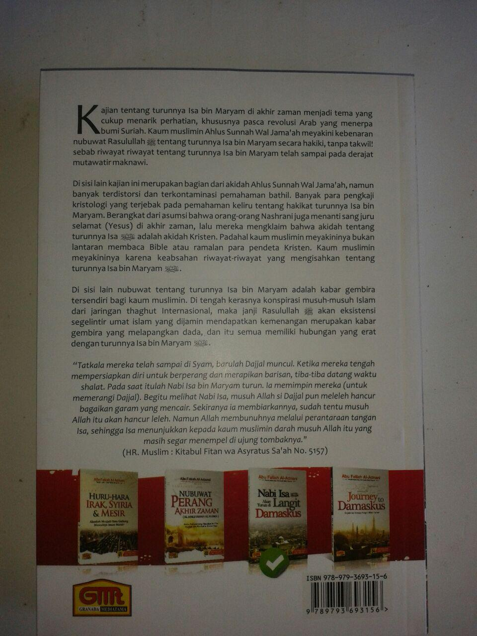 Buku Nabi Isa AkBuku Nabi Isa Akan Turun Di Langit Damaskus cover 3an Turun Di Langit Damaskus cover 3