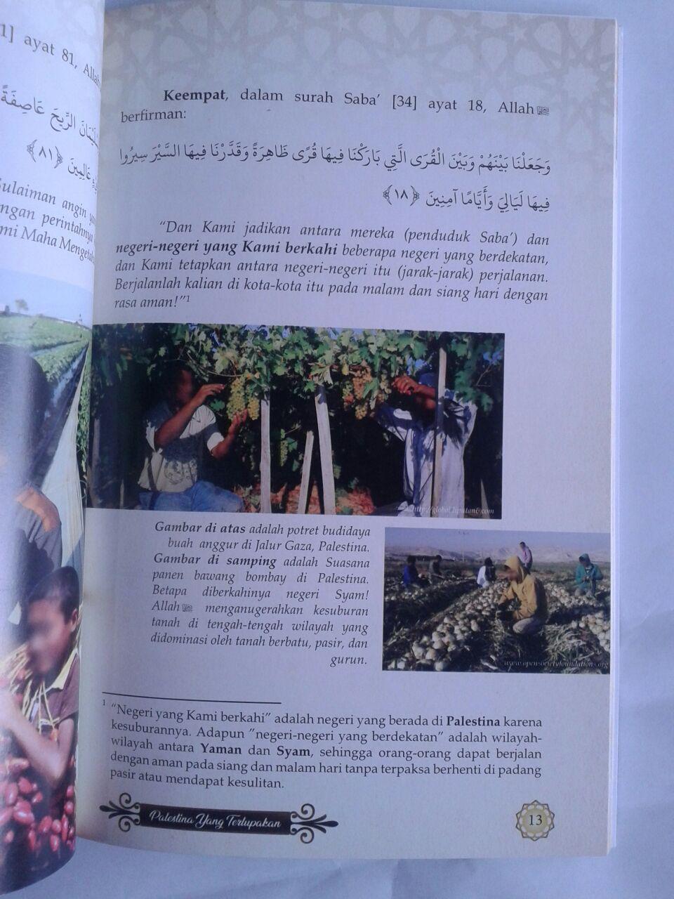 Buku Palestina Yang Terlupakan isi 3
