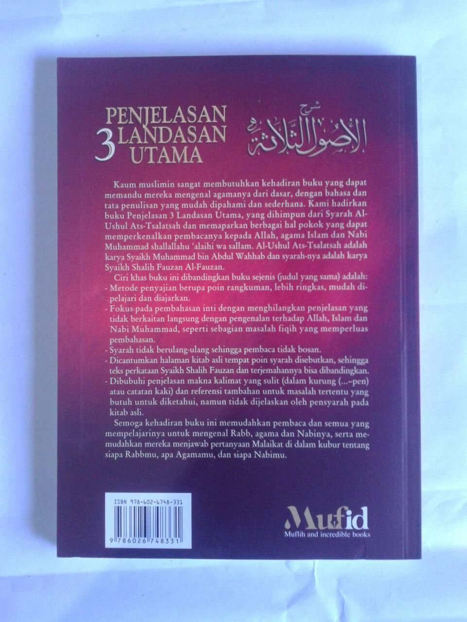 Buku Penjelasan 3 Landasan Utama Soft Cover