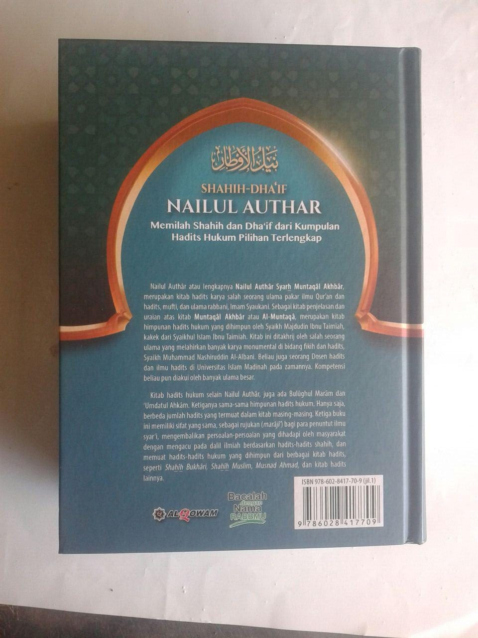 Buku Shahih Dhaif Nailul Authar Kumpulan Hadits Hukum Terlengkap cover 6