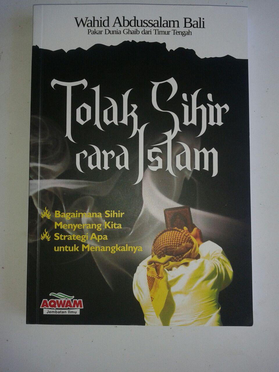 Buku Tolak Sihir Cara Islam cover 2