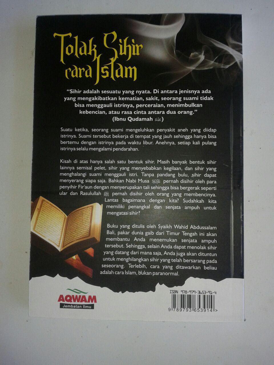 Buku Tolak Sihir Cara Islam cover