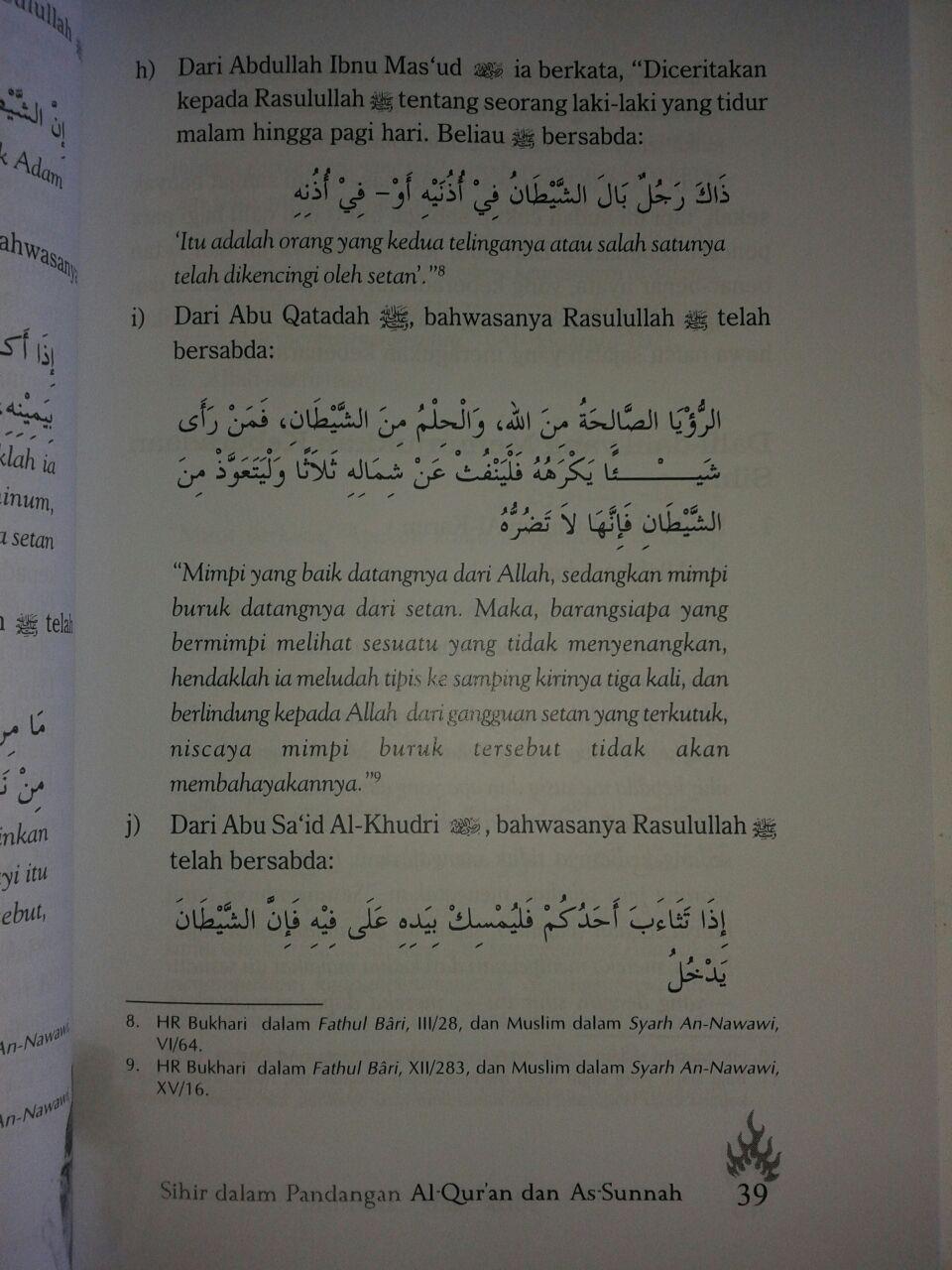 Buku Tolak Sihir Cara Islam isi