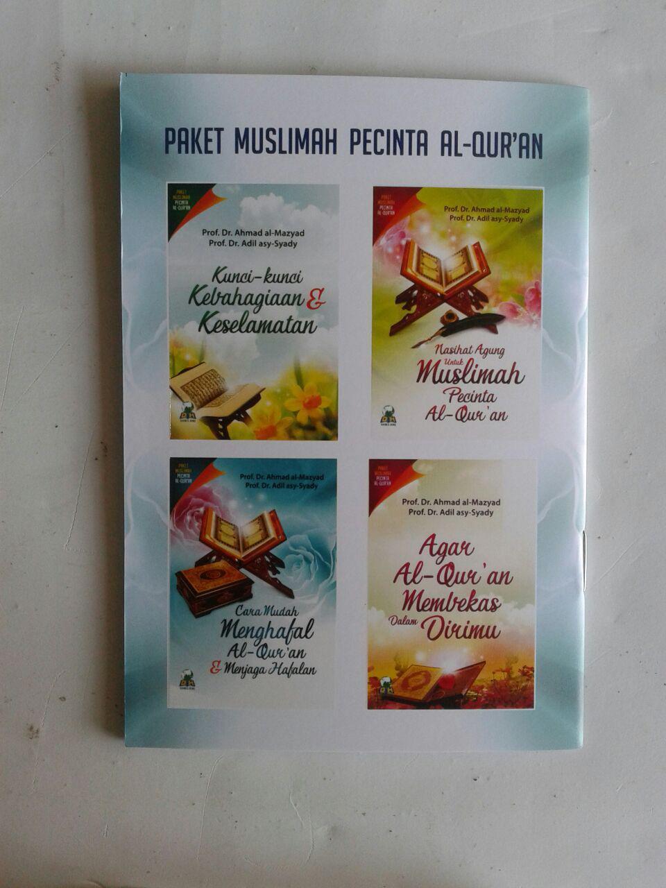 Paket Buku Muslimah Pecinta Al-Qur'an cover 2