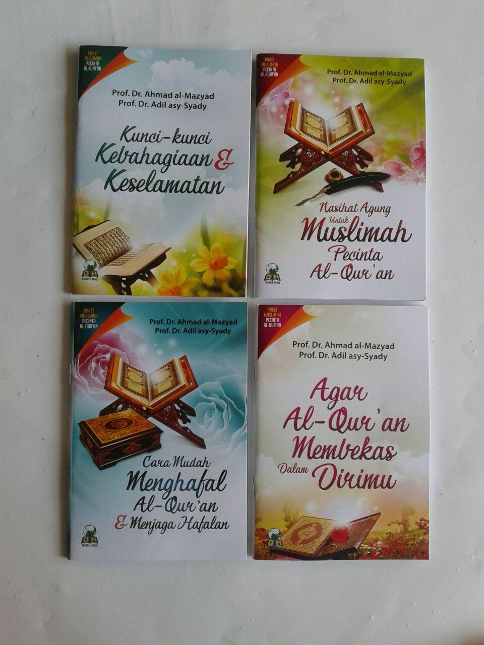 Paket Buku Muslimah Pecinta Al-Qur'an cover 3