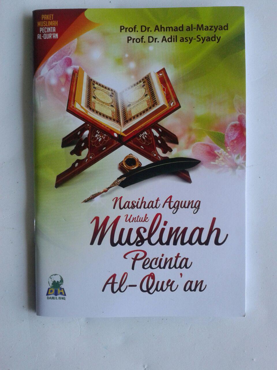 Paket Buku Muslimah Pecinta Al-Qur'an cover 4