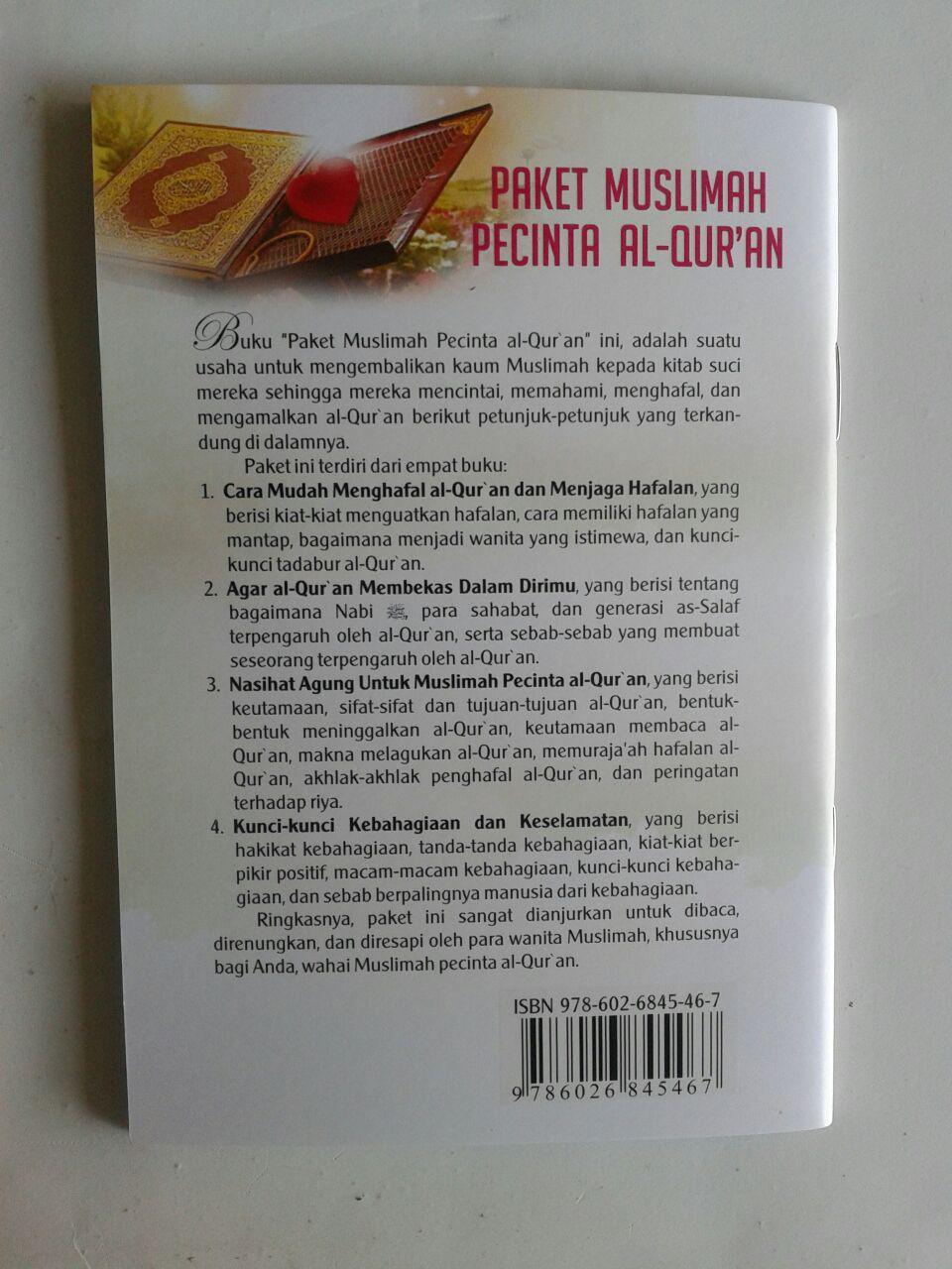 Paket Buku Muslimah Pecinta Al-Qur'an cover