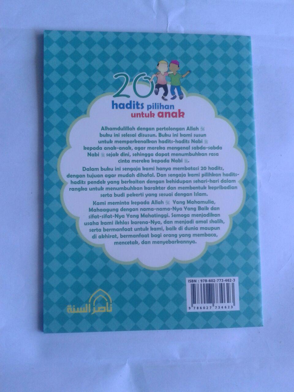 Buku 20 Hadits Pilihan Untuk Anak cover